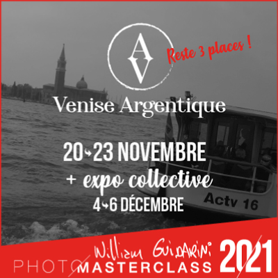 Venise Argentique Photo Masterclass, avec William Guidarini