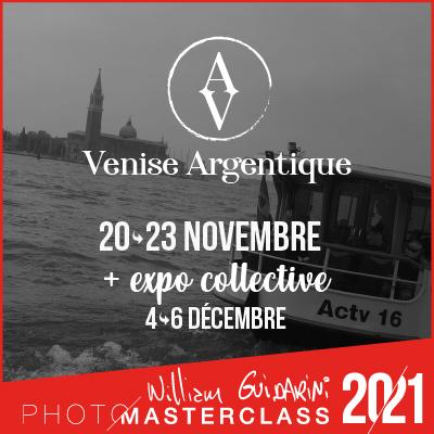 Venise Argentique Photo Masterclass avec William Guidarini
