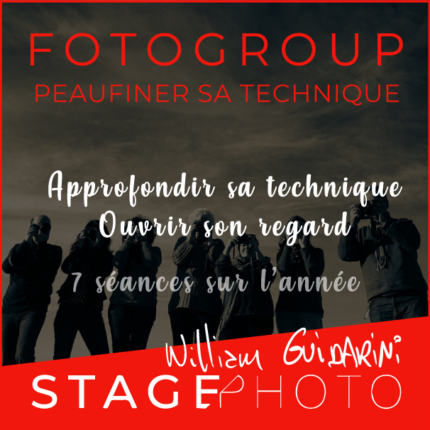 Stage photo Fotogroup avec William Guidarini