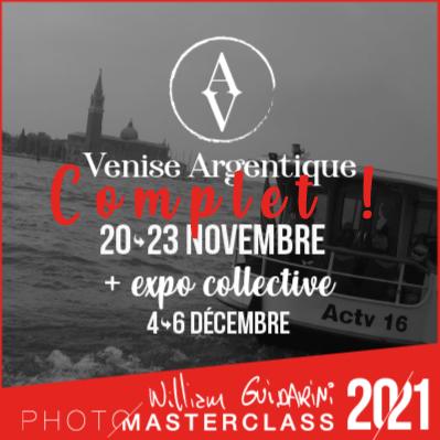 Venise Argentique Photo Masterclass